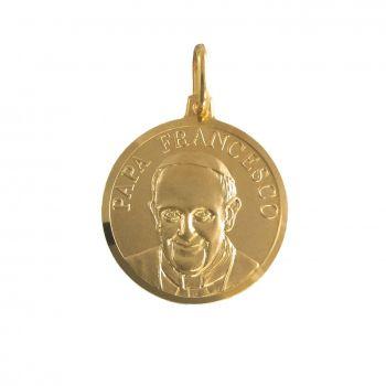 Papa Francesco Ø18mm Oro