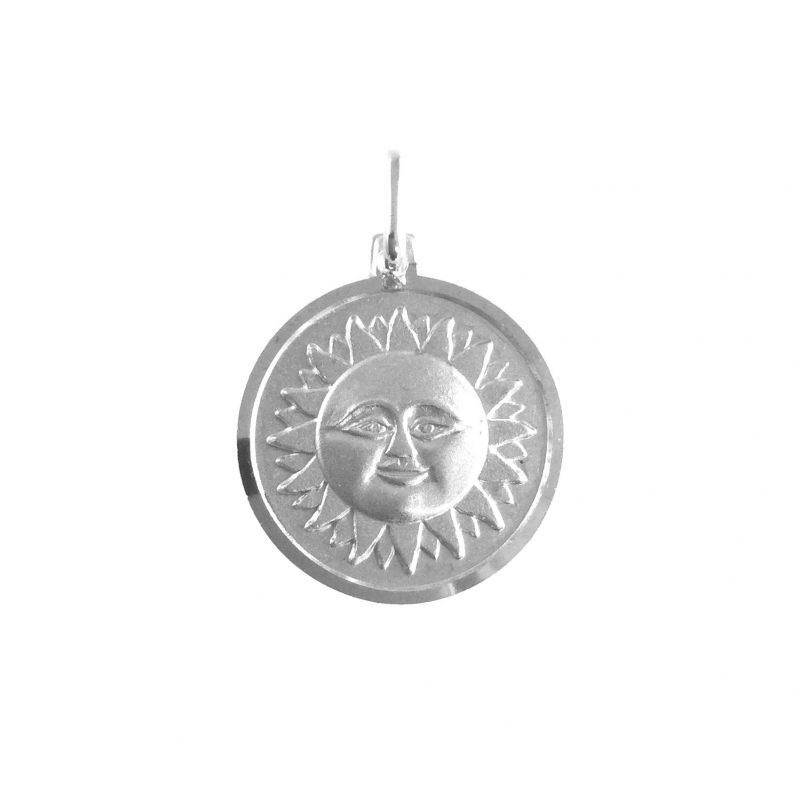 Sole Ø18mm argento 925