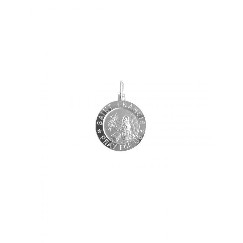 San Francesco Ø18mm argento 925